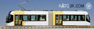 Kato Unitram 14-801-6 N TLR0607 Yellow Tram Portram